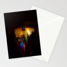 Glow Sticks and Dashboards Stationery Cards