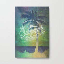 Summer vibes - Mashup edition Metal Print