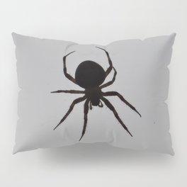 Orb Weaver Silhouette Pillow Sham