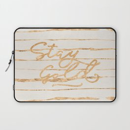 Stay Gold Laptop Sleeve