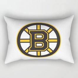 Boston Bruinss Logo Rectangular Pillow