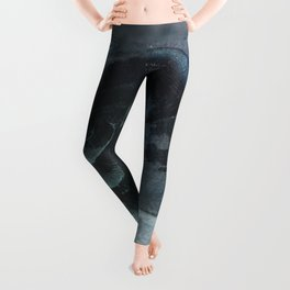 Shell - Sketch inverted colors Leggings