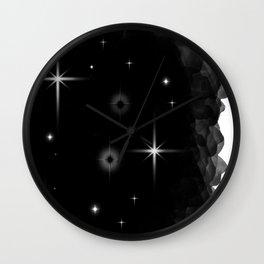 Starlight Starbright In The Night Galaxy Wall Clock