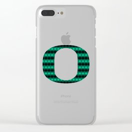 Oregon Green Clear iPhone Case