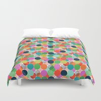 chelsea Duvet Covers featuring Chelsea Dot by Elephant & Rose