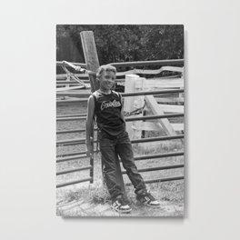 Sincerity - Photo Metal Print