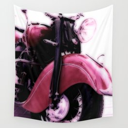 Motorcycle-Poster Wall Tapestry