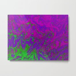 Positively Lost Me Metal Print