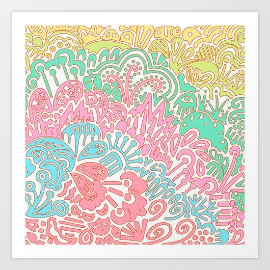 Tropic IV Art Print