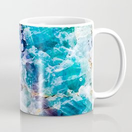 Multicolor quartz texture Coffee Mug