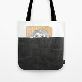 stay in bed Tote Bag