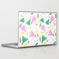 hibiscus Laptop & iPad Skins featuring Hibiscus by Pink Pagoda Studio / Barbara Perrine Chu