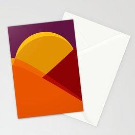 alla montagna Stationery Cards