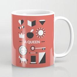 OUAT - A Queen Coffee Mug