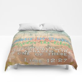Sparrows & Lilies Comforters