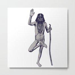 VADERIZED FAKIR Metal Print
