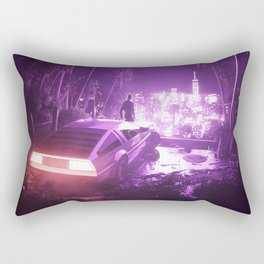 TIMEOUT | by RETRIC DREAMS Rectangular Pillow