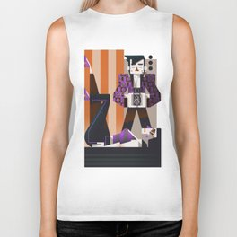 Summer in the city Biker Tank