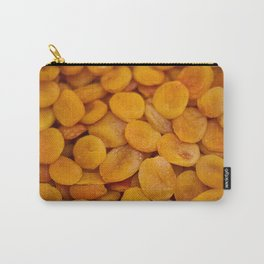 Dried cut apricot fruits Carry-All Pouch
