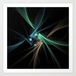 Fractal Convergence Art Print