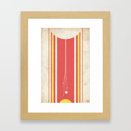 Destruction of the Hosnian System Framed Art Print