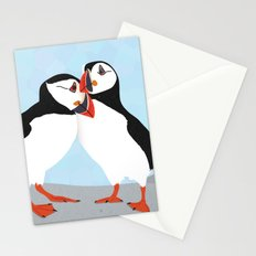 Puffin love you Stationery Cards