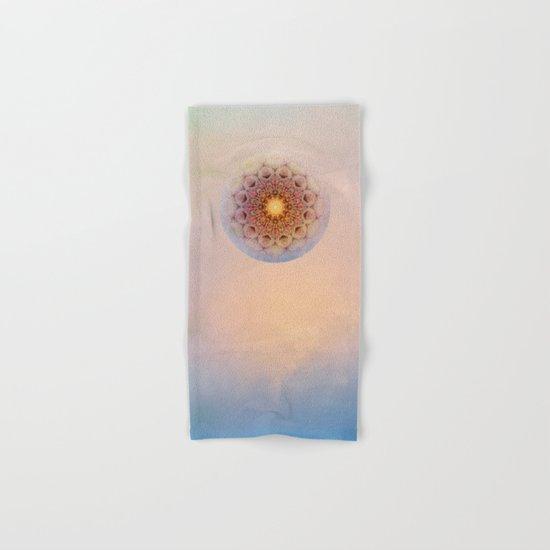 Asterisk Mandala Hand & Bath Towel