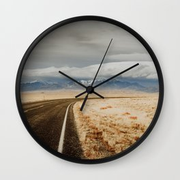 Great Sand Dunes National Park - Road Wall Clock