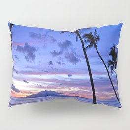 BEACH AND PALM TREES Pillow Sham