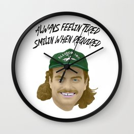 Mac DeMarco - Always Feelin Tired Wall Clock