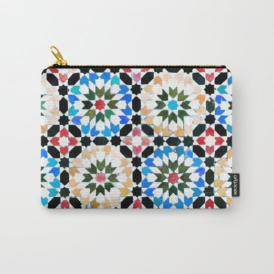 Oriental pattern Carry-All Pouch