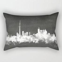 Toronto Canada Skyline Rectangular Pillow
