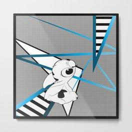 Stitch Tee Metal Print