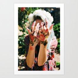 Kara's Hands Art Print