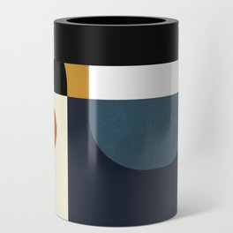 mid century abstract shapes fall winter 4 Can Cooler