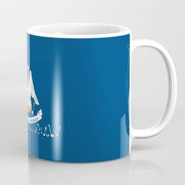 Musical Louisiana State Flag Coffee Mug