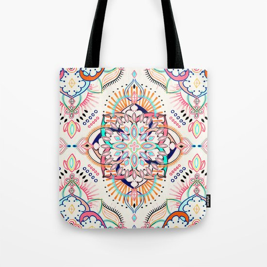 Summer Festival Pop Tote Bag