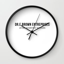 The Doc | Movies Quotes Wall Clock