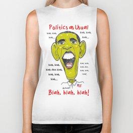 Politics as Usual... Biker Tank