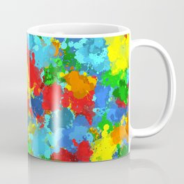 Multicolored splashes Coffee Mug
