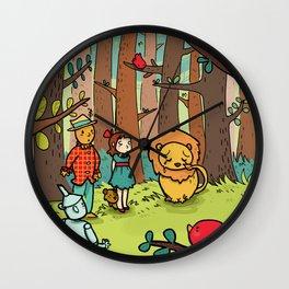 Mago di oz. wizard 3 Wall Clock