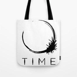 Arrival - Time Black Tote Bag