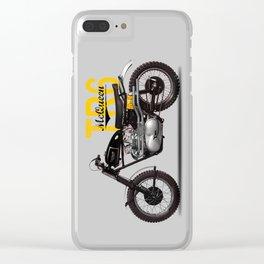 The McQueen Desert Racer Clear iPhone Case