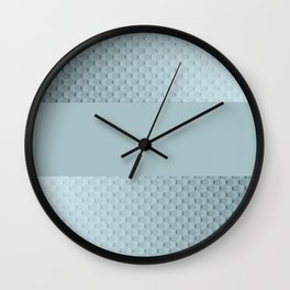 Blue mother of pearl Wall Clock