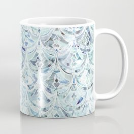 Ice and Diamonds Art Deco Pattern Coffee Mug