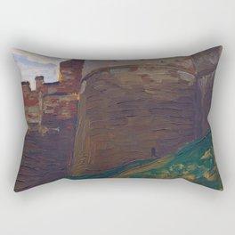 Nicholas Roerich - The Fortress Tower, Nizhny Novgorod - Digital Remastered Edition Rectangular Pillow