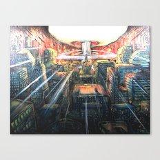 A thousand Suns Canvas Print