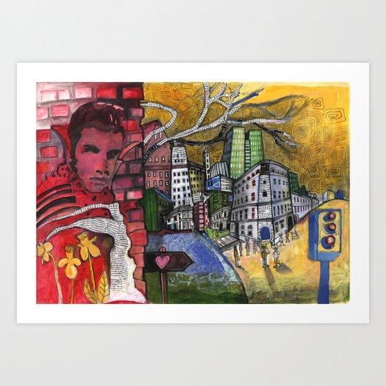 King Street Art Print