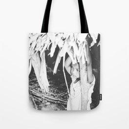 Orang Asli girl Tote Bag