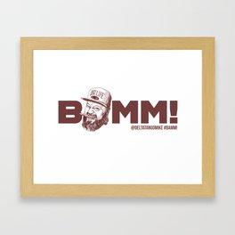BAMM!!! Framed Art Print